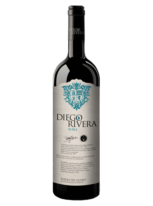 vino Diego Rivera Roble